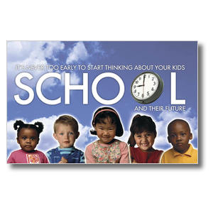 School Time - PreSchool Postcards