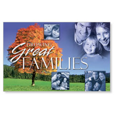 Great Families Postcard