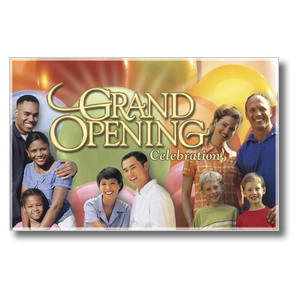 Grand Opening Church Postcards