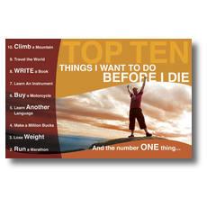 10 Things Postcard
