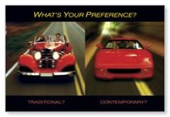 Cars Postcard