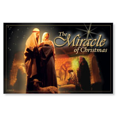 Miracle of Christmas Postcard