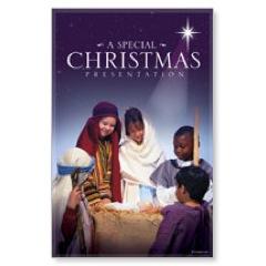 Christmas Presentation Postcard