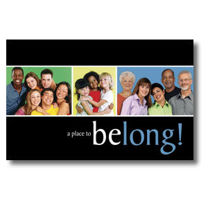 Belong Church Postcards