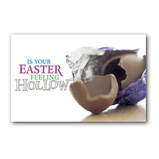 Hollow Egg Postcard
