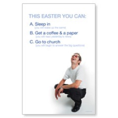 Easter Options Postcard