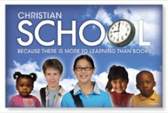 Christian School Postcard