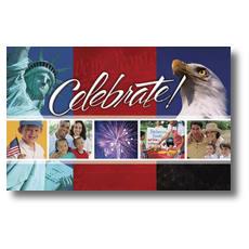 America Celebrates Postcard