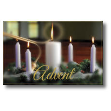 Advent Postcard