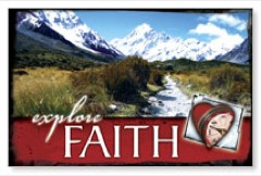 Explore Faith Postcard