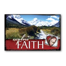 Explore Faith Postcard
