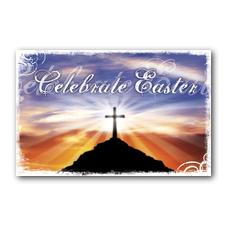 Sunrise Cross Postcard