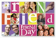Friend Day Postcard