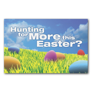 Easter Hunt DIY Postcard Packs