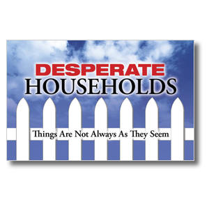Desperate Households Postcards