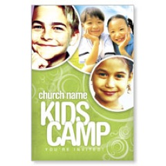Green Kids Camp Postcard