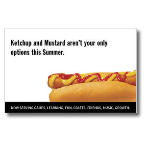 Hot Dog Postcards
