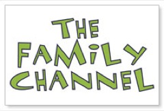 Family Channel Postcard