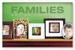 Family Mantel Postcard