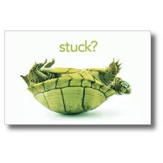 Stuck? Postcard