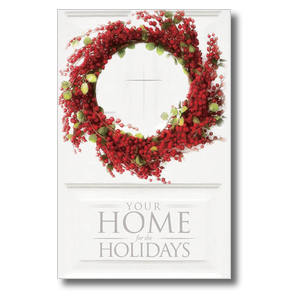 Home for Holidays Postcards