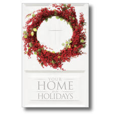 Home for Holidays Postcard