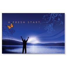Fresh Start Postcard