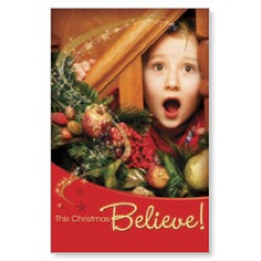 Believe Postcard