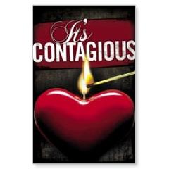 Contagious Love Postcard