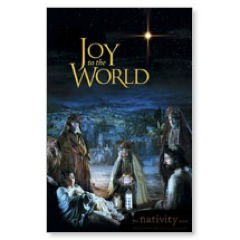 Nativity Joy Postcard