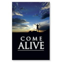 Come Alive Postcard