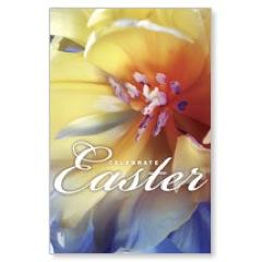 Easter Floral Postcard