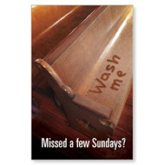Missed Sundays Postcard