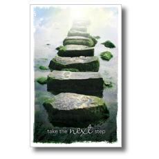 Next Step Postcard