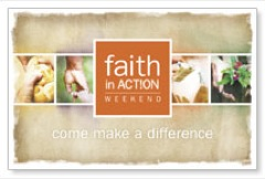 Faith in Action Difference Postcard