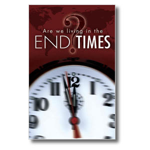End Times Clock Postcards