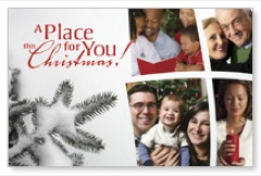 Place for Christmas Postcard