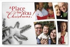 Place for Christmas Postcard