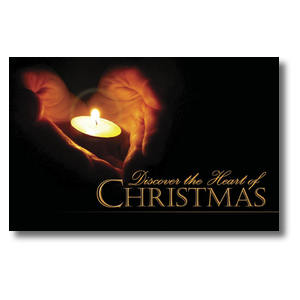 Heart of Christmas Postcards
