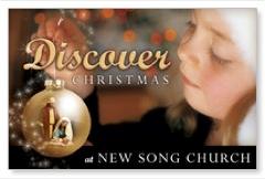 Discover Christmas Postcard