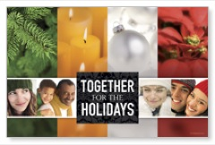 Together for the Holidays Postcard