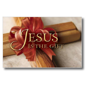 Jesus is the Gift Postcards