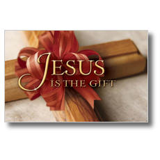 Jesus is the Gift Postcard