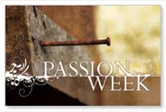Passion Week Postcard