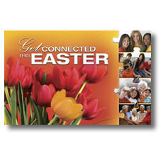 Easter Connected Postcard