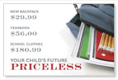 School Priceless Postcard