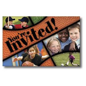 Kids Sports 4/4 ImpactCards