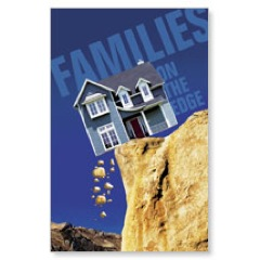 Families on the Edge Postcard
