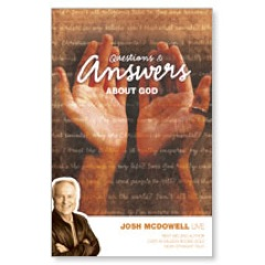 Answers God Josh Postcard