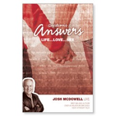 Answers Life Love Sex Josh Postcard